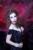 Викторианская дама. стоковые фото