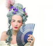 Викторианская дама. стоковое фото