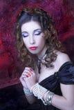 Викторианская дама. стоковые фотографии rf
