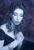 Викторианская дама. Стоковая Фотография