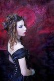 Викторианская дама Стоковые Фотографии RF