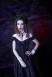 Викторианская дама Стоковое Фото