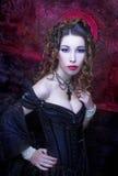 Викторианская дама стоковая фотография rf
