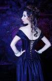 Викторианская дама стоковая фотография