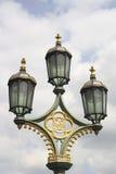Викторианская лампа Стоковое Изображение