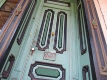 Викторианская дверь Стоковое Фото