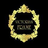 Викторианская рамка Стоковая Фотография