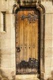 Викторианские дверь церков и окно разреза Стоковая Фотография RF