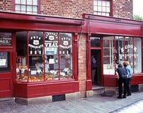 Викторианские магазины, Dudley Стоковые Фото