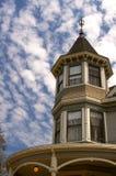 викторианские окна Стоковая Фотография RF