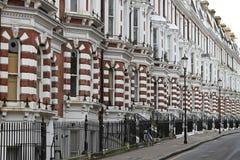 Викторианские дома Стоковые Фото