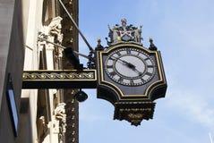 Викторианские чугунные часы Стоковые Фото