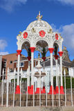 Викторианский выпивая фонтан, Ньюпорт-на-Tay, файф Стоковое Изображение RF