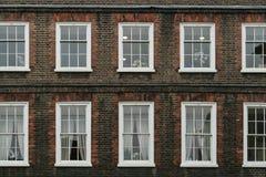 Викторианский дом в Лондоне стоковая фотография rf