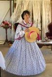 Викторианский модный парад Стоковые Изображения