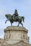 Викторианский памятник, Рим Стоковые Фотографии RF