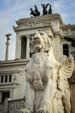Викторианский памятник, Рим Стоковое фото RF