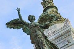 Викторианский памятник, Рим Стоковая Фотография RF