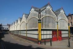Викторианский рынок Hall стоковое фото rf