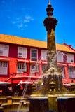Викторианский фонтан на Малакке Стоковое фото RF