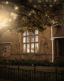 Викторианское окно Стоковые Фотографии RF