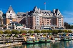 Виктория, Британская Колумбия, Канада - 11-ое сентября 2017: Fairmont Стоковое фото RF