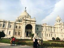 Виктория мемориальный Hall, Kolkata Индия стоковая фотография