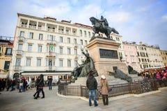 Виктор памятника emmanuel ii Стоковая Фотография