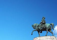 Виктор соотечественника памятника emmanuel ii Стоковые Фотографии RF