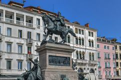 Виктор Emmanuel II - Венеция, Италия стоковое изображение rf