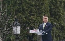 Виктор Orban, венгерский премьер-министр Стоковое Изображение