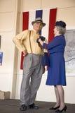 Викэнд и Reenactment Второй Мировой Войны музея воздуха Средний-Атлантика в Рединге Стоковое Фото