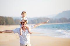 викэнд пляжа Стоковые Изображения