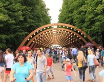 Викэнд в парке Стоковые Фото