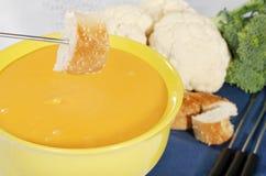 вилка fondue хлеба стоковые фотографии rf