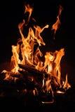 вилки пламени Стоковая Фотография RF