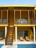 вилла гостиницы Стоковое Изображение RF