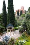 вилла Италии ботанических садов hanbury Стоковые Изображения