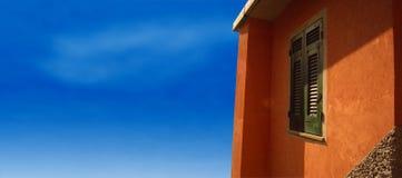 вилла Италии Тосканы Стоковое фото RF