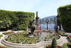 Вилла на Tremezzo, Италии Стоковые Фотографии RF