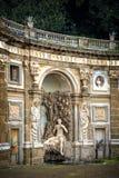 Вилла Aldobrandini в Frascati Деталь театра воды Италия rome Стоковое Изображение