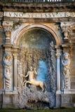 Вилла Aldobrandini в Frascati Театр вод Италия rome Стоковые Фото