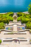 Вилла Carlotta на Tremezzo на озере Como Италии Стоковая Фотография