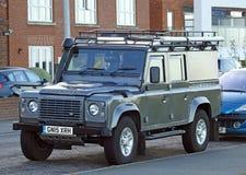 Виллис защитника Land Rover Стоковые Изображения RF