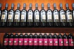 вина Италии doscana Стоковое Изображение RF