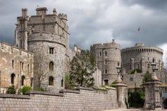 ВИНДЗОР, BERKSHIRE/UK - 27-ОЕ АПРЕЛЯ: Взгляд различных зданий Стоковые Изображения RF