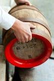 винзавод винодела пива бочонка Стоковые Фотографии RF