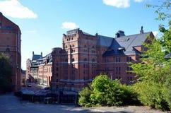 Винзавод Мюнхена в Стокгольме стоковые фотографии rf