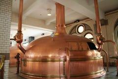 винзавод пива стоковая фотография