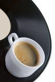 винил показателя кофейной чашки Стоковое Изображение